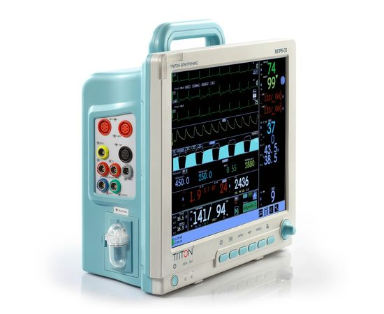 Тритон-ЭлектроникС МПР6-03 Комплектация НД2.18 Монитор для наркозно-дыхательных аппаратов — фото 2
