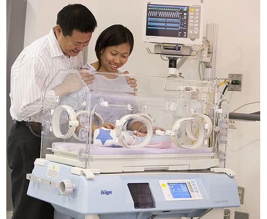 Dräger Isolette® 8000 Инкубатор для новорожденных — фото 4