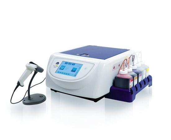 bioMerieux S.A. PREVI Color Gram V2 - аппарат для автоматического окрашивания мазков по Граму c каруселью на 12 предметных стекол — фото 1