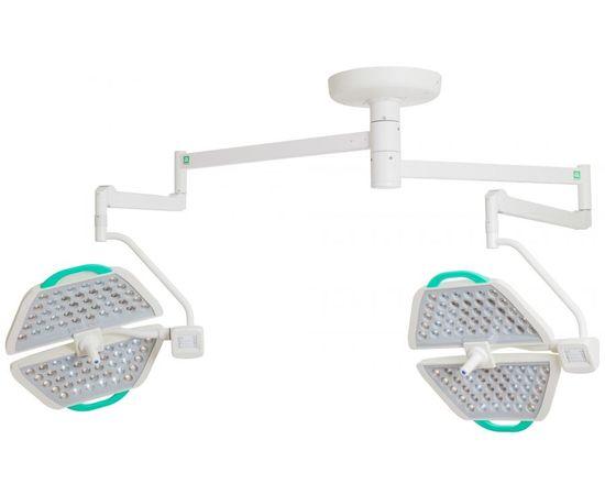 Медико Паналед 140/140 Хирургический потолочный двухблочный светильник — фото 1
