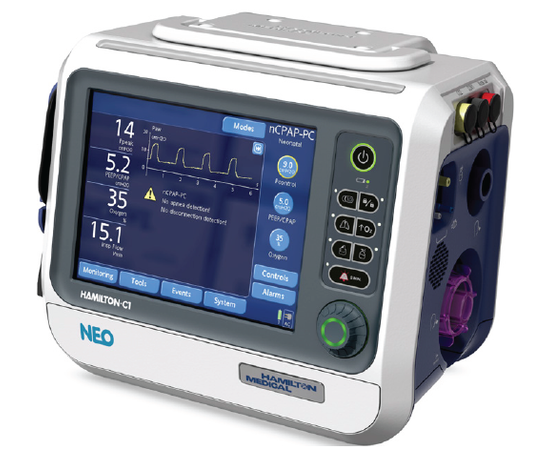 HAMILTON-C1 neo Аппарат ИВЛ для новорожденных — фото 1